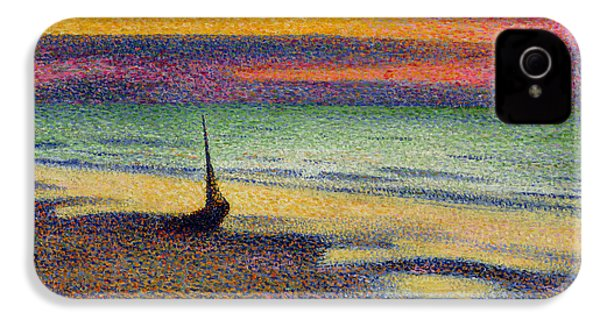 The Beach At Heist IPhone 4 Case by Georges Lemmen