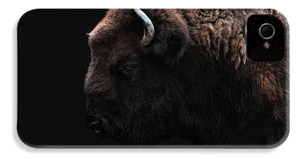 The Bison IPhone 4 Case by Joachim G Pinkawa