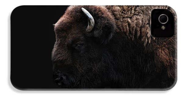 The Bison IPhone 4 / 4s Case by Joachim G Pinkawa