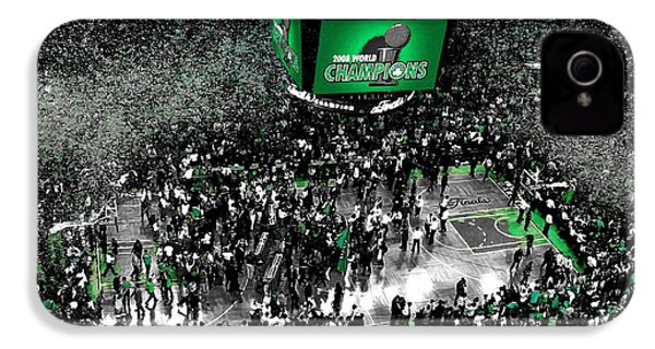 The Boston Celtics 2008 Nba Finals IPhone 4 / 4s Case by Brian Reaves