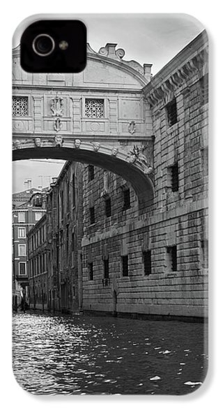 The Bridge Of Sighs, Venice, Italy IPhone 4 Case by Richard Goodrich