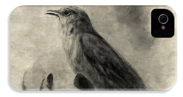 The Call Of The Mockingbird IPhone 4 Case by Jai Johnson