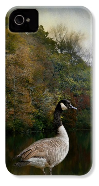 The Canadian Goose IPhone 4 Case by Jai Johnson