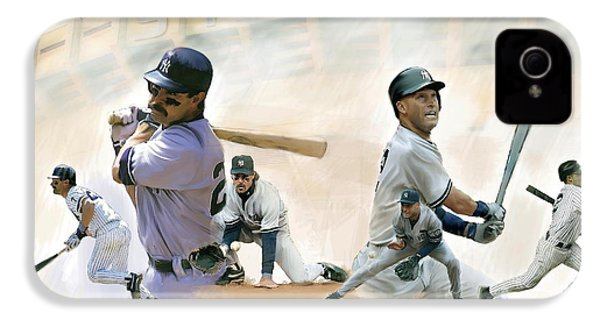 The Captains II Don Mattingly And Derek Jeter IPhone 4 Case