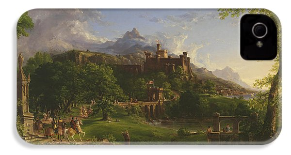 The Departure IPhone 4 / 4s Case by Thomas Cole