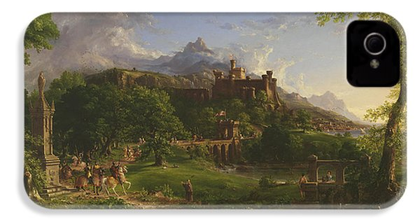 The Departure IPhone 4 Case by Thomas Cole
