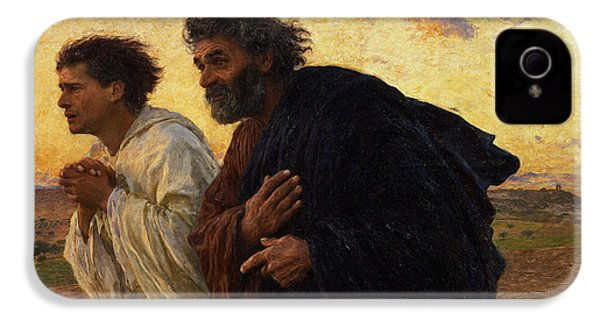 The Disciples Peter And John Running To The Sepulchre On The Morning Of The Resurrection IPhone 4 Case