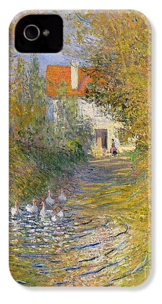 The Duck Pond IPhone 4 Case by Claude Monet