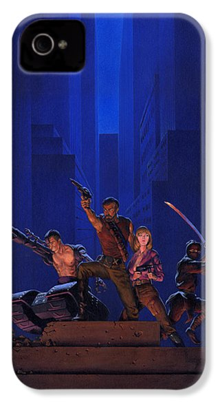 The Eliminators IPhone 4 Case by Richard Hescox