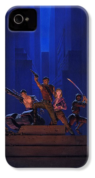 The Eliminators IPhone 4 / 4s Case by Richard Hescox