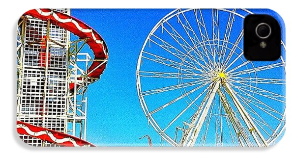 The Fair On Blacheath IPhone 4 Case by Samuel Gunnell