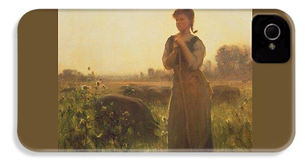 The Farm Girl IPhone 4 Case by Arthur Hacker