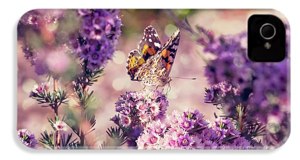 IPhone 4 Case featuring the photograph The First Day Of Summer by Linda Lees