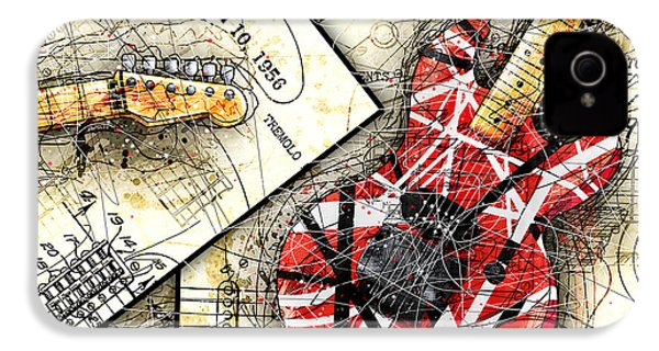 The Frankenstrat IPhone 4 Case by Gary Bodnar