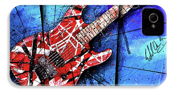 The Frankenstrat Vii Cropped IPhone 4 / 4s Case by Gary Bodnar