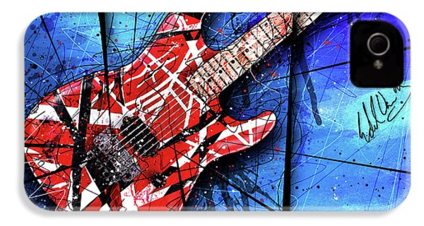 The Frankenstrat Vii Cropped IPhone 4 Case by Gary Bodnar