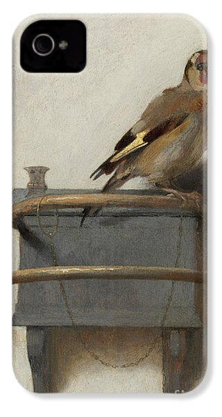 The Goldfinch, 1654  IPhone 4 Case