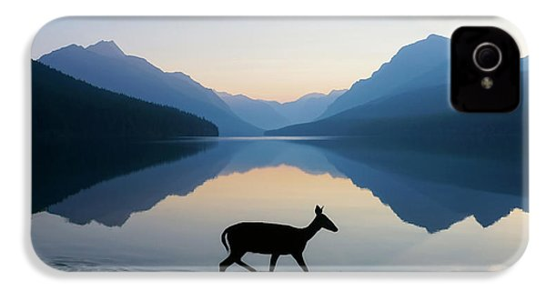The Grace Of Wild Things IPhone 4 Case by Dustin  LeFevre
