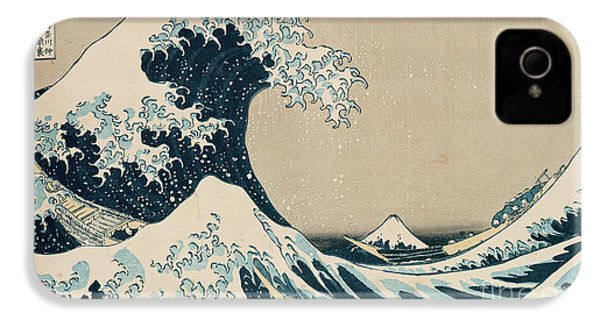 The Great Wave Of Kanagawa IPhone 4 / 4s Case by Hokusai