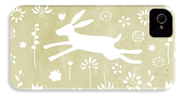 The Hare In The Meadow IPhone 4 Case