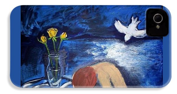 IPhone 4 Case featuring the painting The Healing by Winsome Gunning