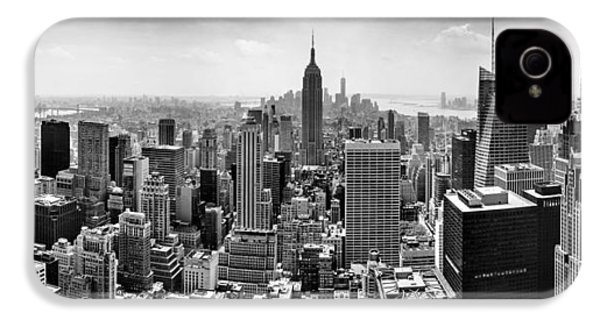 New York City Skyline Bw IPhone 4 Case