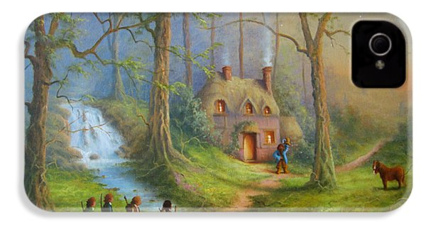 The House Of Tom Bombadil.  IPhone 4 / 4s Case by Joe  Gilronan
