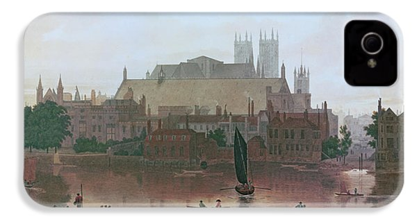 The Houses Of Parliament IPhone 4 Case by George Fennel Robson