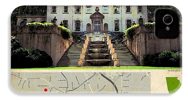The Hunger Games Catching Fire Movie Location And Map IPhone 4 Case