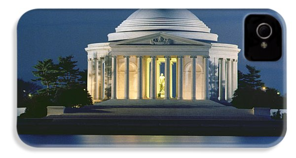 The Jefferson Memorial IPhone 4 Case by Peter Newark American Pictures
