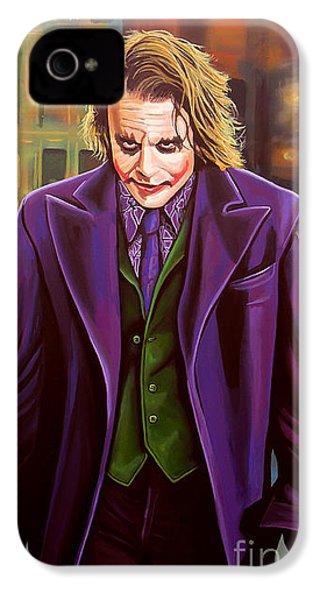 The Joker In Batman  IPhone 4 Case