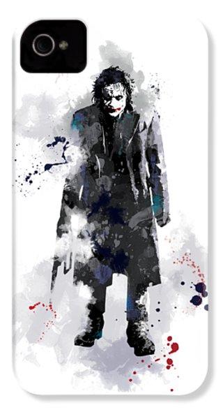 The Joker IPhone 4 Case by Marlene Watson