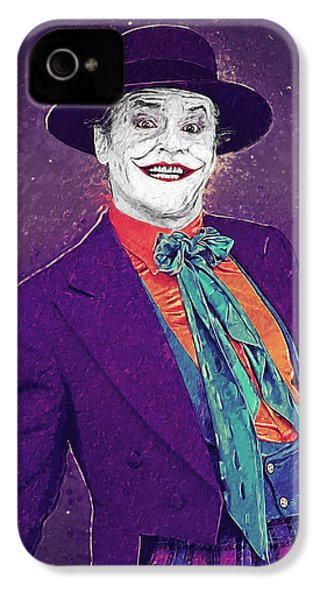 The Joker IPhone 4 Case by Taylan Apukovska