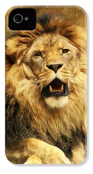 The King IPhone 4 Case by Angela Doelling AD DESIGN Photo and PhotoArt