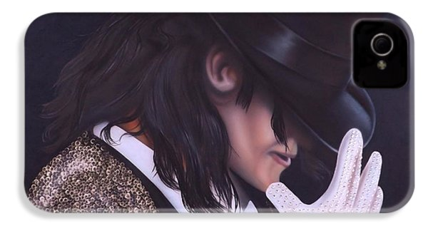 The King Of Pop IPhone 4 Case by Darren Robinson