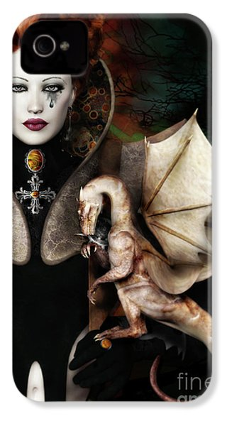 The Last Dragon IPhone 4 Case by Shanina Conway