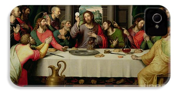 The Last Supper IPhone 4 Case by Vicente Juan Macip