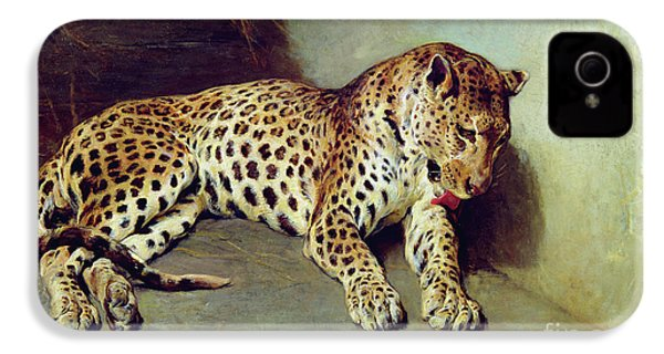 The Leopard IPhone 4 Case by John Sargent Noble