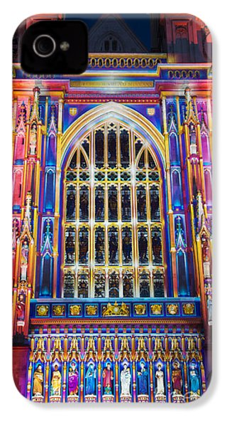 The Light Of The Spirit Westminster Abbey London IPhone 4 Case by Tim Gainey
