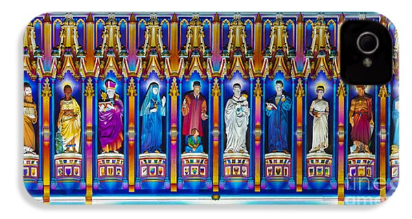 The Light Of The Spirit Westminster Abbey IPhone 4 Case by Tim Gainey