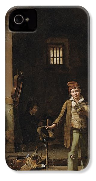 The Little Savoyards' Bedroom Or The Little Groundhog Shower IPhone 4 Case