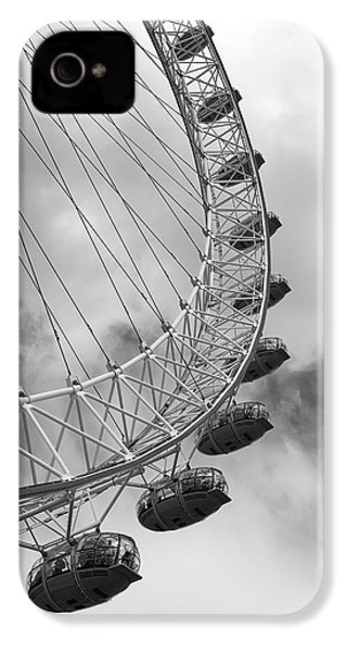 IPhone 4 Case featuring the photograph The London Eye, London, England by Richard Goodrich