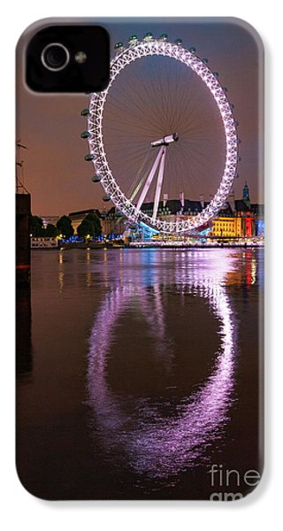 The London Eye IPhone 4 Case by Nichola Denny
