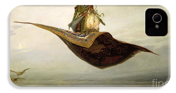 The Magic Carpet IPhone 4 / 4s Case by Apollinari Mikhailovich Vasnetsov