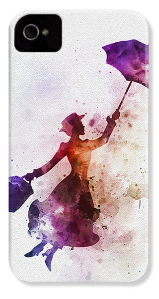 The Magical Nanny IPhone 4 Case by Rebecca Jenkins