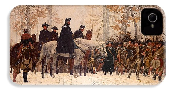 The March To Valley Forge IPhone 4 Case