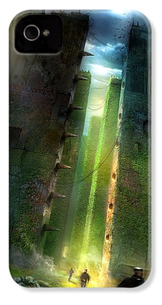 The Maze Runner IPhone 4 Case by Philip Straub