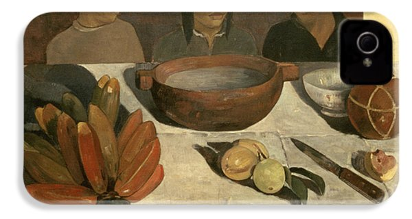 The Meal IPhone 4 / 4s Case by Paul Gauguin