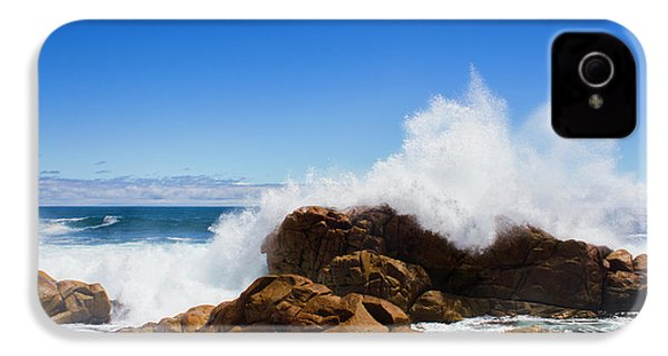 IPhone 4 Case featuring the photograph The Might Of The Ocean by Jorgo Photography - Wall Art Gallery