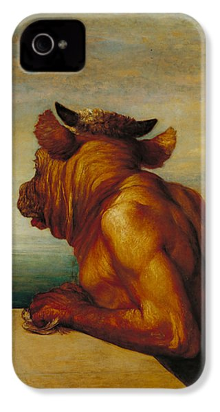The Minotaur IPhone 4 Case by George Frederic Watts